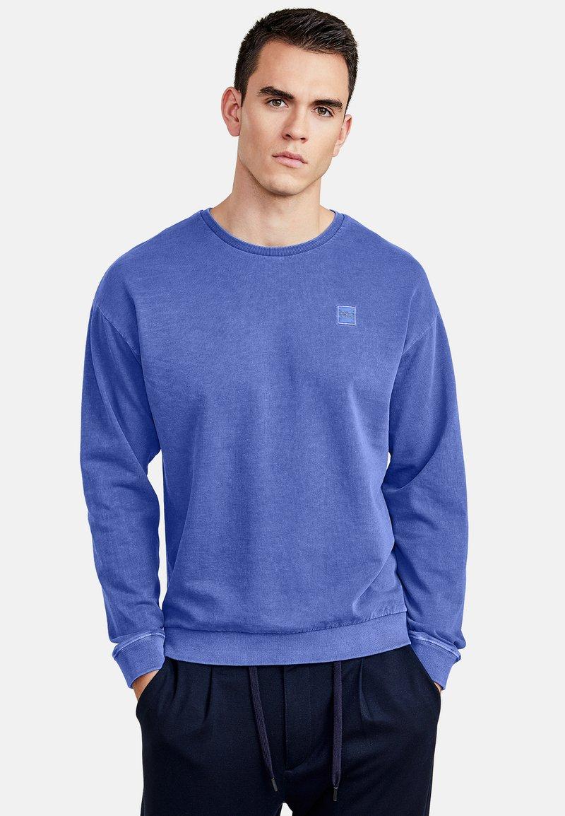 NEW IN TOWN - LONGSLEEVE - Sweatshirt - blue
