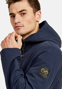 NEW IN TOWN - MIT KAPUZE - Summer jacket - night blue - 3
