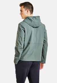 NEW IN TOWN - MIT KAPUZE - Summer jacket - green - 2