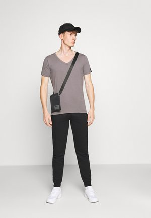 NEWPORT CORE 2 PACK - Pantalon de survêtement - black/grey marl