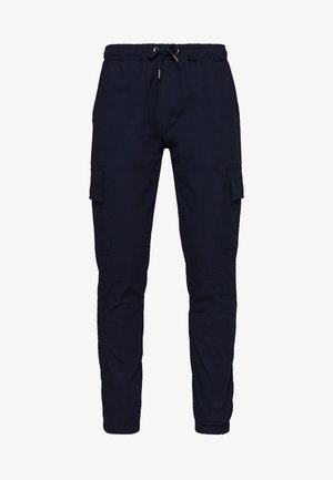 CARTEL - Cargo trousers - navy