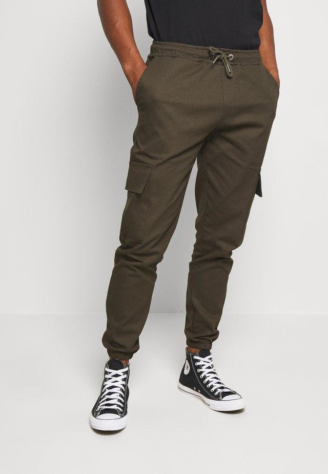 CARTEL - Pantalon cargo - khaki