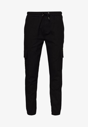 CARTEL - Cargo trousers - black