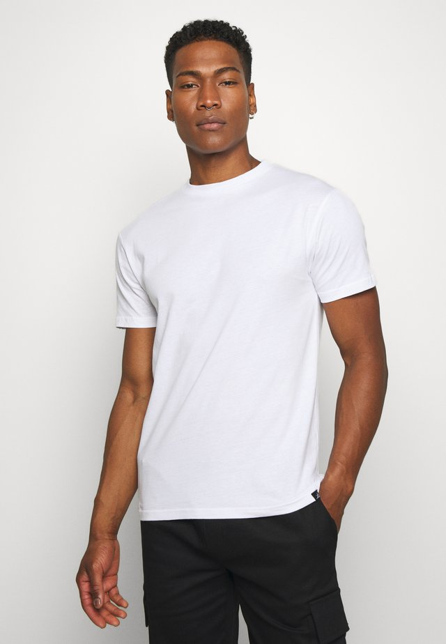 NEWPORT MULTI TEE 5 PACK - T-shirts basic - white