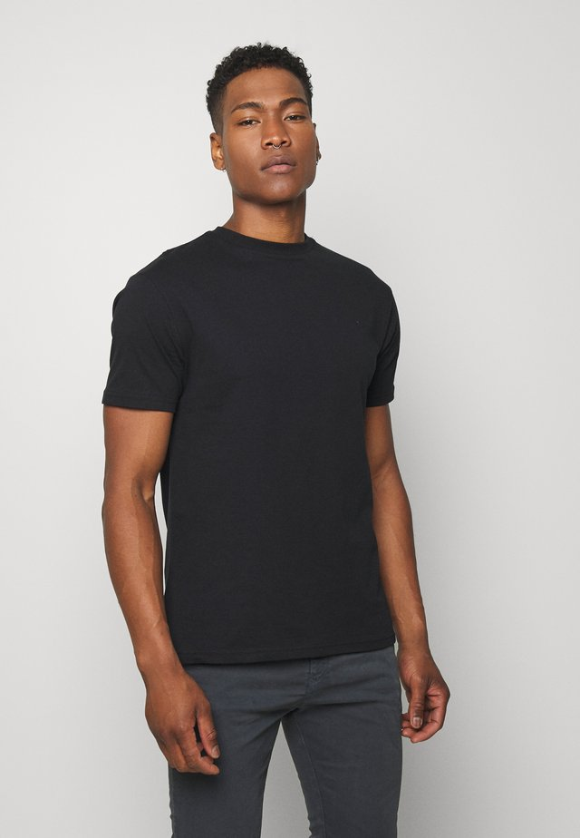 NEWPORT MULTI TEE 5 PACK - T-shirts basic - black