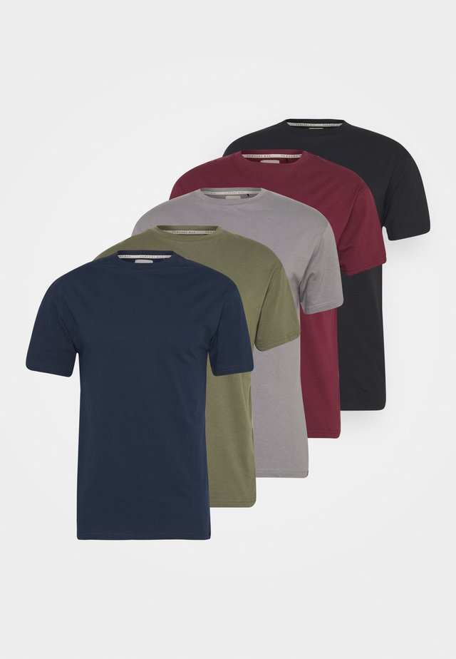 TEE 5 PACK - Basic T-shirt - multi