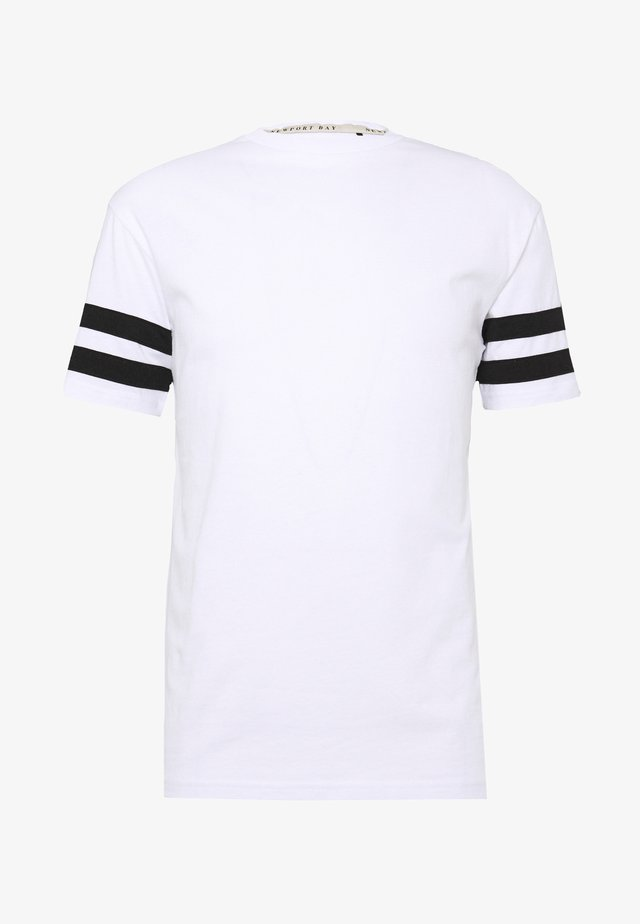 TEE - T-shirt con stampa - white