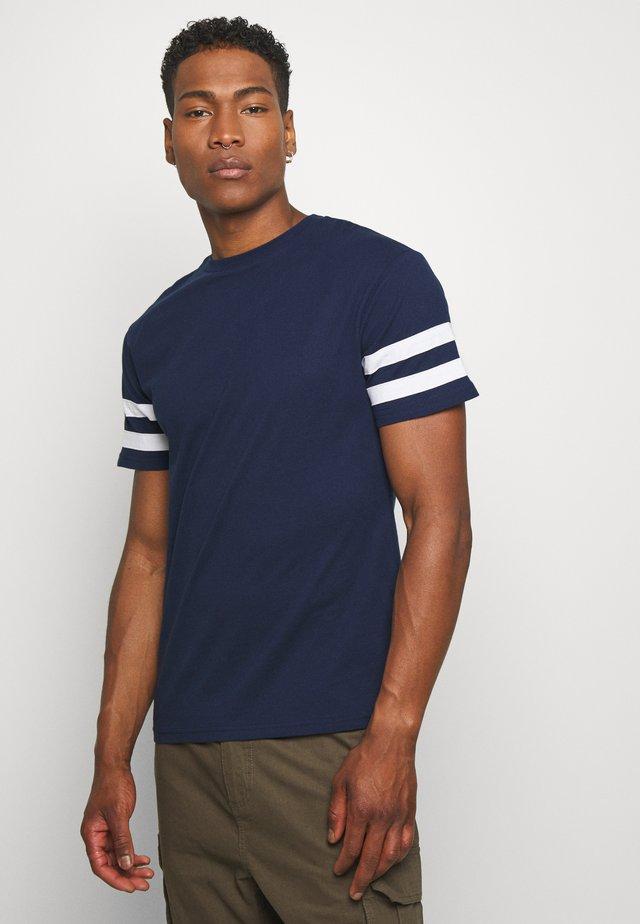 TEE - T-shirt imprimé - navy