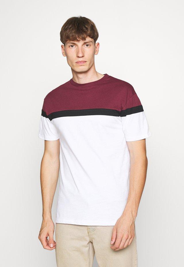 TERRACE TEE - T-shirt print - white