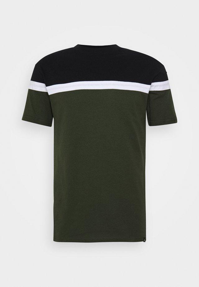 TERRACE TEE - T-shirt imprimé - khaki