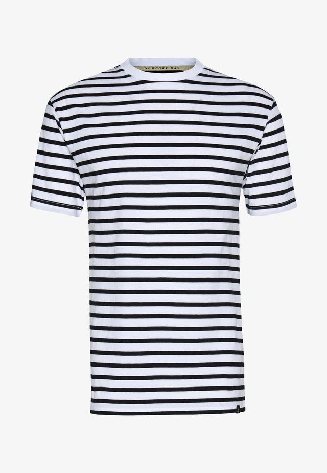 PORTER TEE - T-shirt imprimé - white
