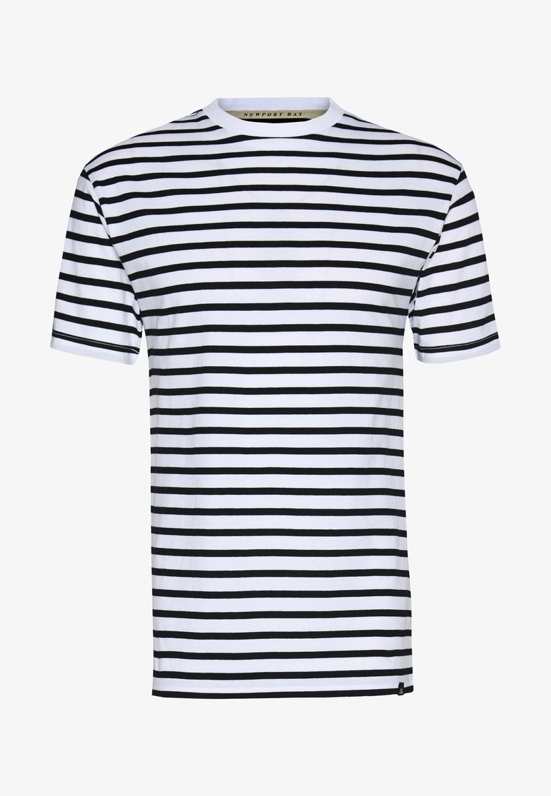 Newport Bay Sailing Club - PORTER TEE - T-shirt imprimé - white