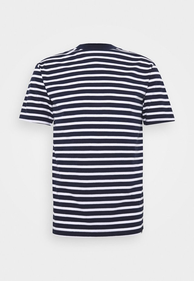 PORTER TEE - T-shirt con stampa - navy