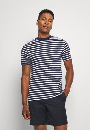 PORTER TEE - T-shirt print - navy