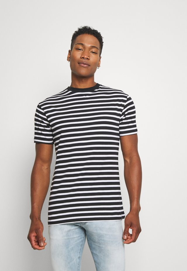 PORTER TEE - T-shirt imprimé - black