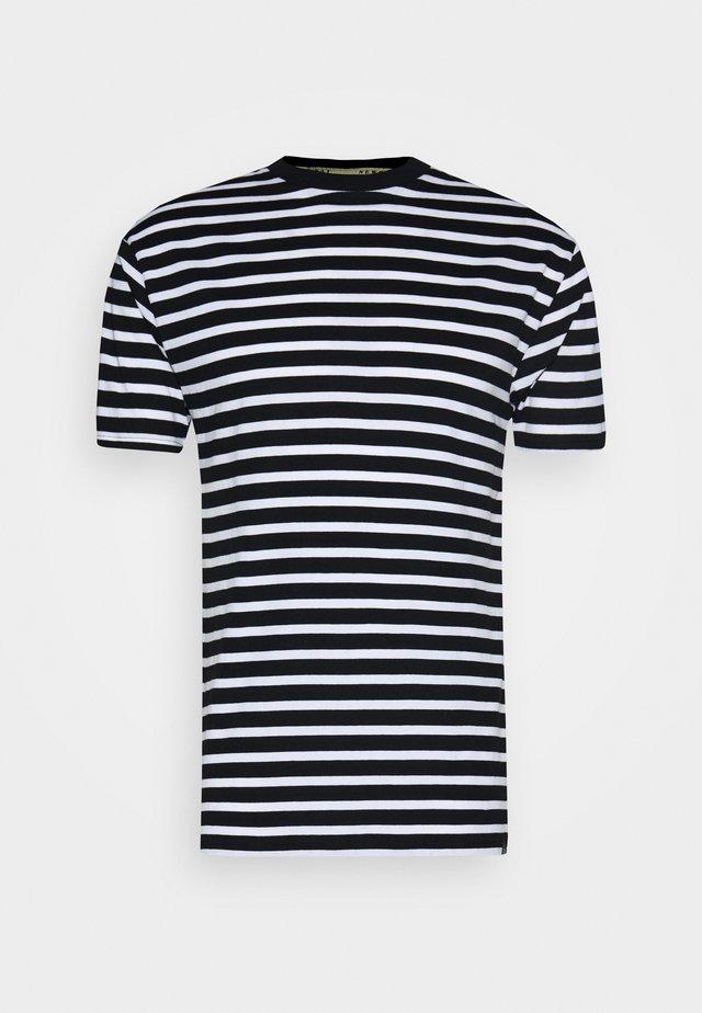 PORTER TEE - T-shirt con stampa - black