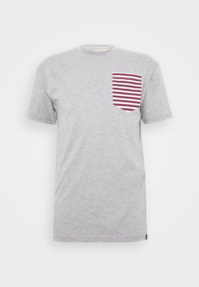 SAIL TEE - T-shirt con stampa - grey marl