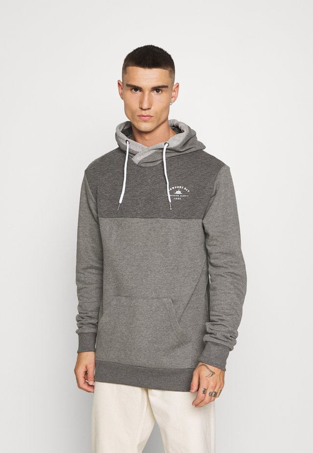 HATCH HOOD - Sweat à capuche - dark grey