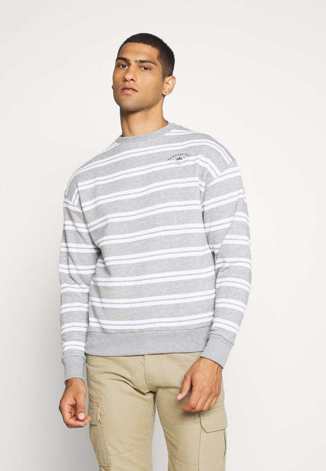 COLLISION CREW - Sweatshirt - grey marl