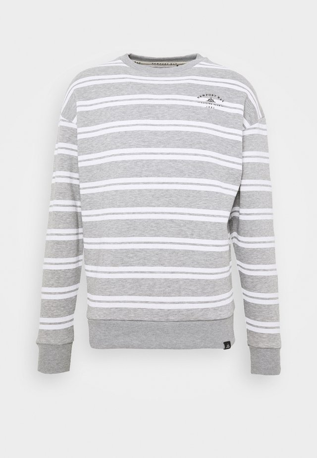 COLLISION CREW - Sweatshirts - grey marl