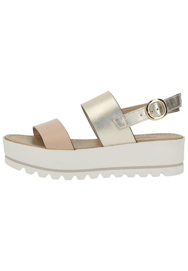 Sandalen met plateauzool - cipria 614