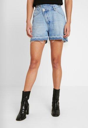 WRAPPED  - Denim shorts - original blue