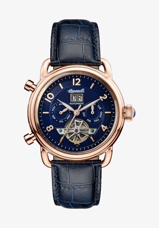 Chronograph watch - rose gold-coloured