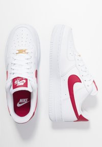 Nike Sportswear - AIR FORCE 1 '07 - Zapatillas - white/noble red - 3