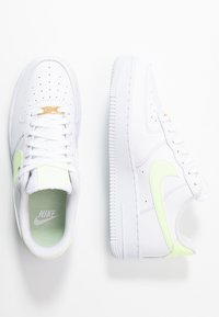 Nike Sportswear - AIR FORCE 1 '07 - Trainers - white/barely volt - 1