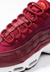 Nike Sportswear - AIR MAX - Sneaker low - team red/black/habanero red