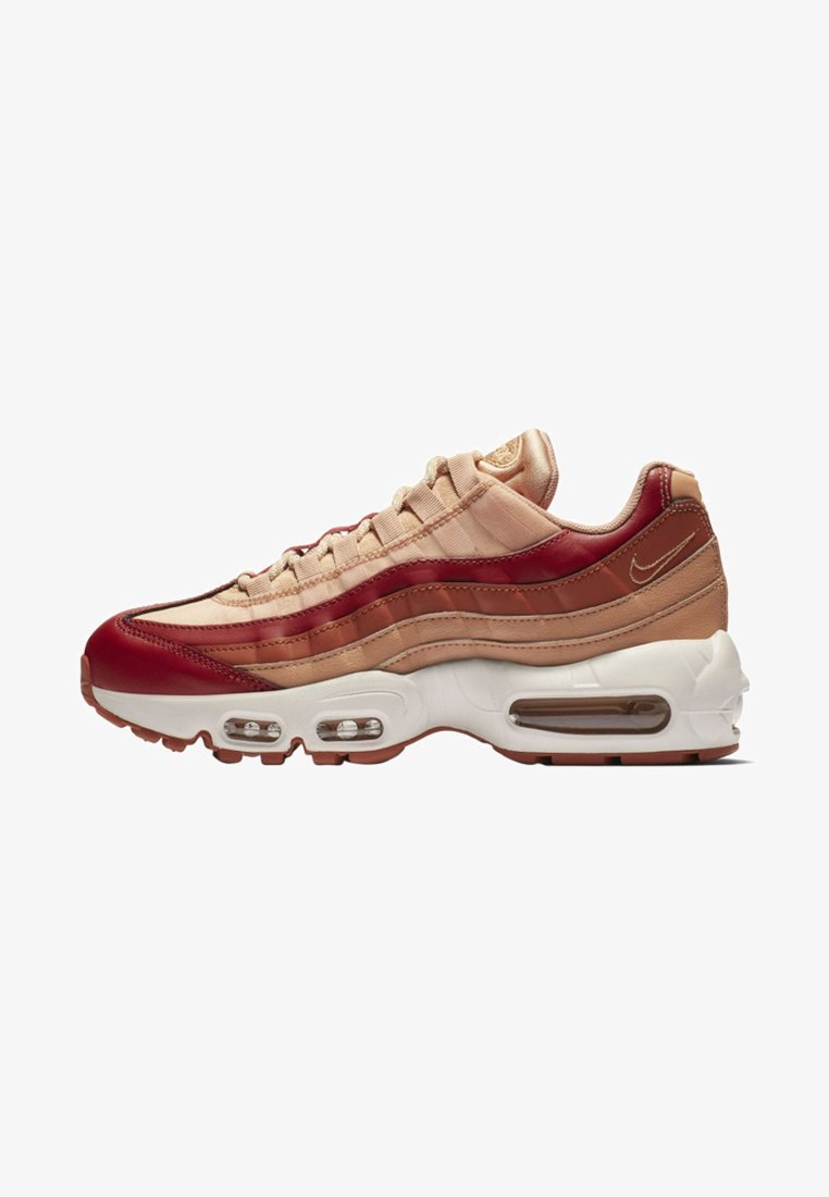 Nike Sportswear - AIR MAX - Sneaker low - team crimson/rose gold/summit white/dusty peach
