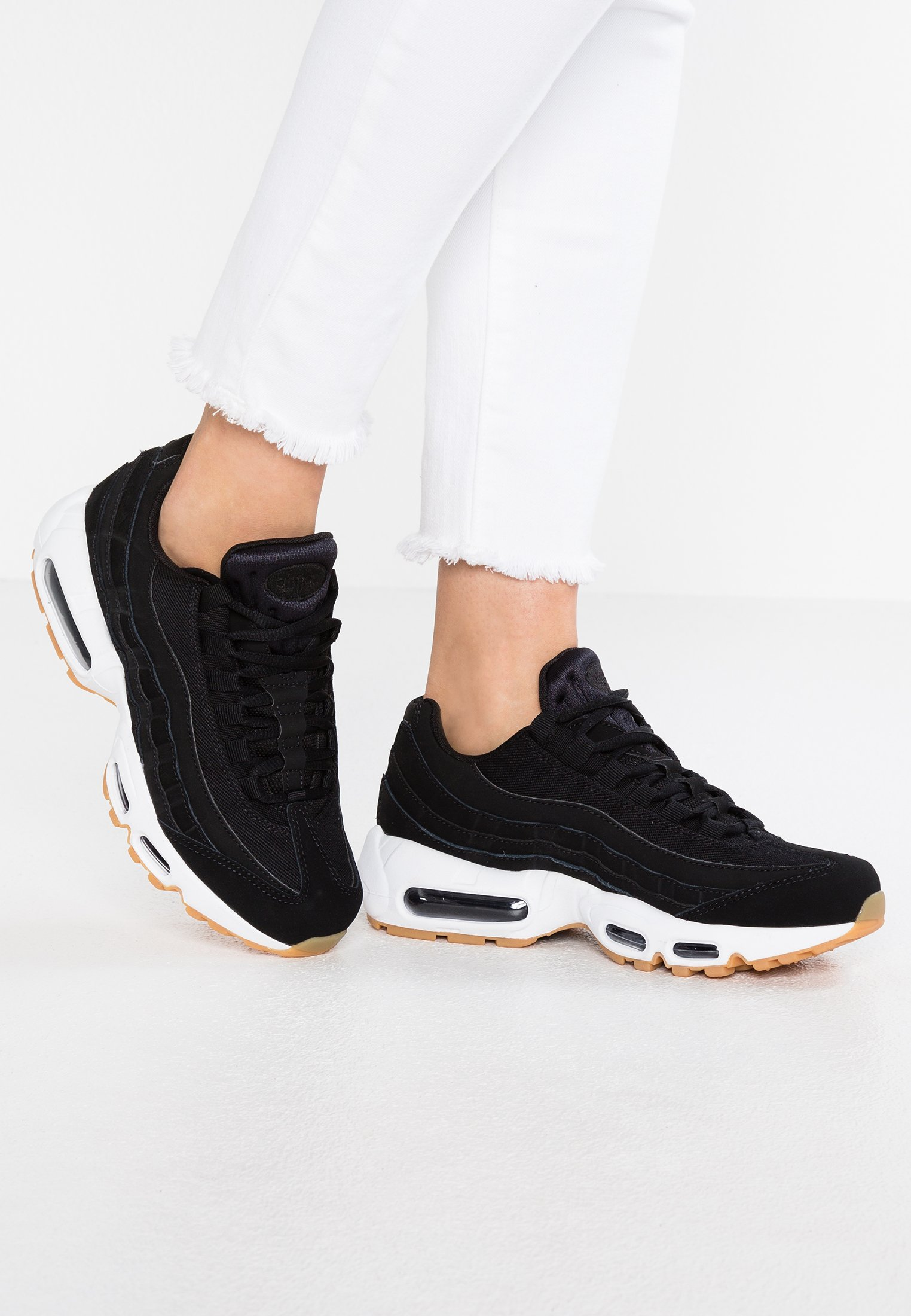 AIR MAX Baskets basses blackanthracitelight brownwhite