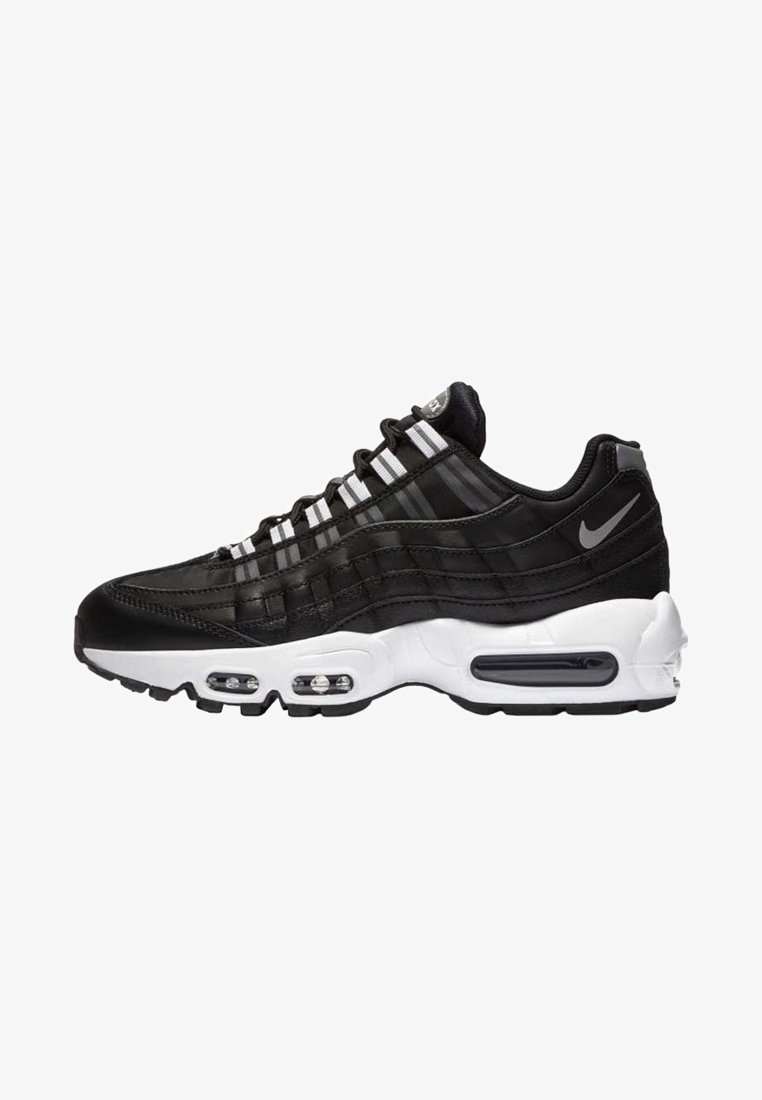 Nike Sportswear - AIR MAX - Trainers - black/white/reflect silver