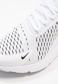 Nike Sportswear - AIR MAX 270 - Joggesko - white/black - 2