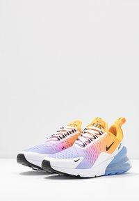 Nike Sportswear - AIR MAX 270 - Sneaker low - university gold/black/university blue/psychic pink/white/football grey - 4
