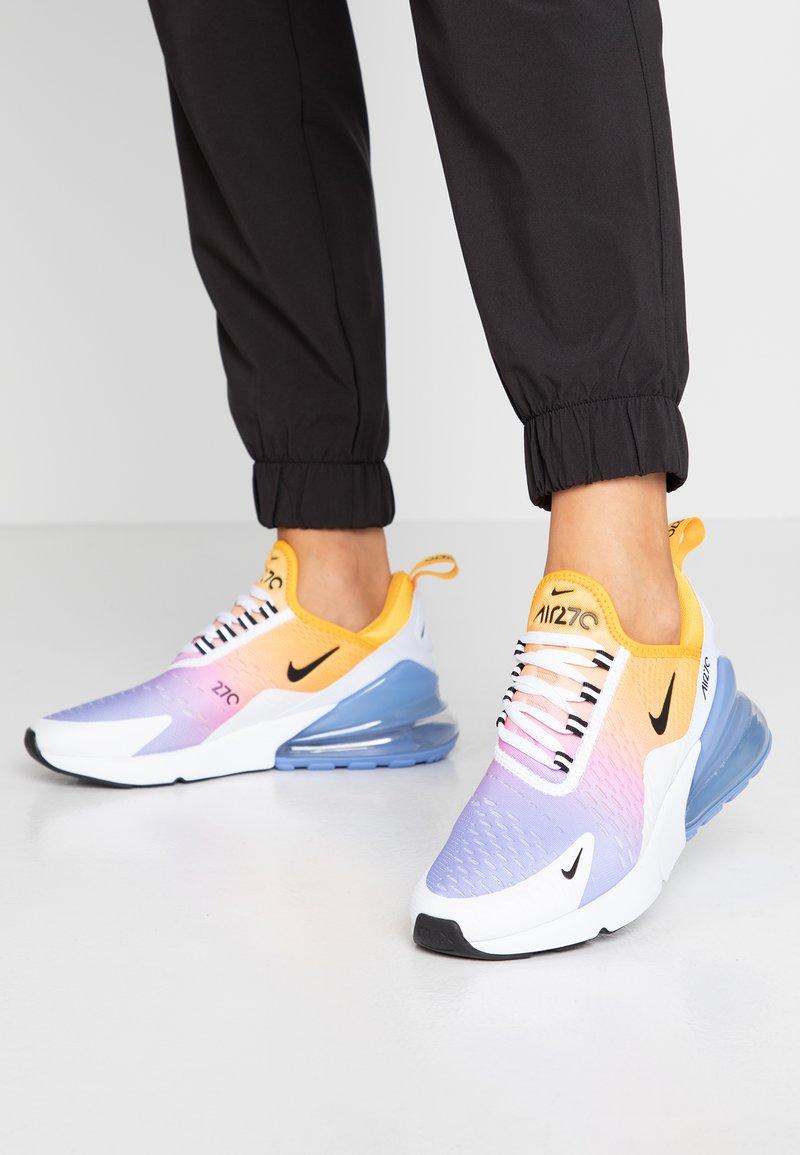 Nike Sportswear - AIR MAX 270 - Sneaker low - university gold/black/university blue/psychic pink/white/football grey
