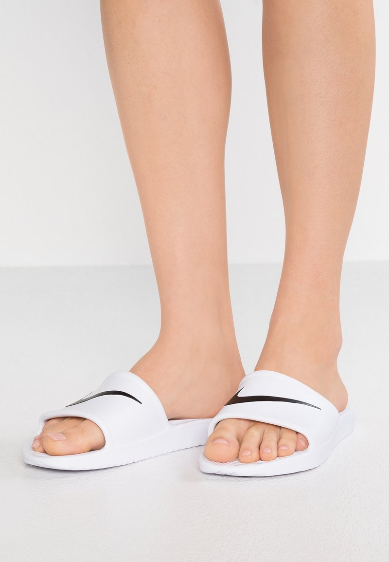 Nike Sportswear - Pantofle - white/black