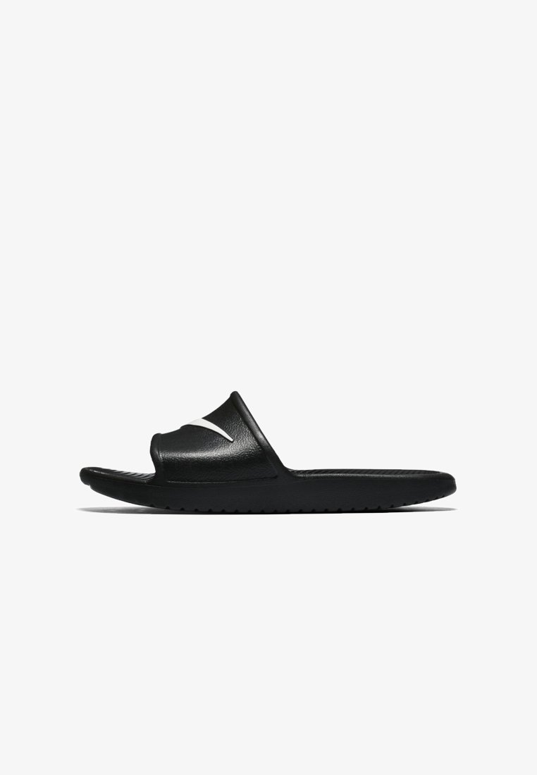 Nike Sportswear - KAWA SHOWER - Pool slides - black/white