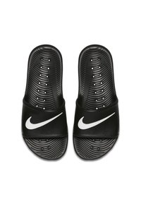 Nike Sportswear - KAWA SHOWER - Pool slides - black/white - 1