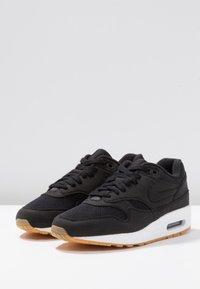 Nike Sportswear - AIR MAX 1 - Sneaker low - black/light brown - 4