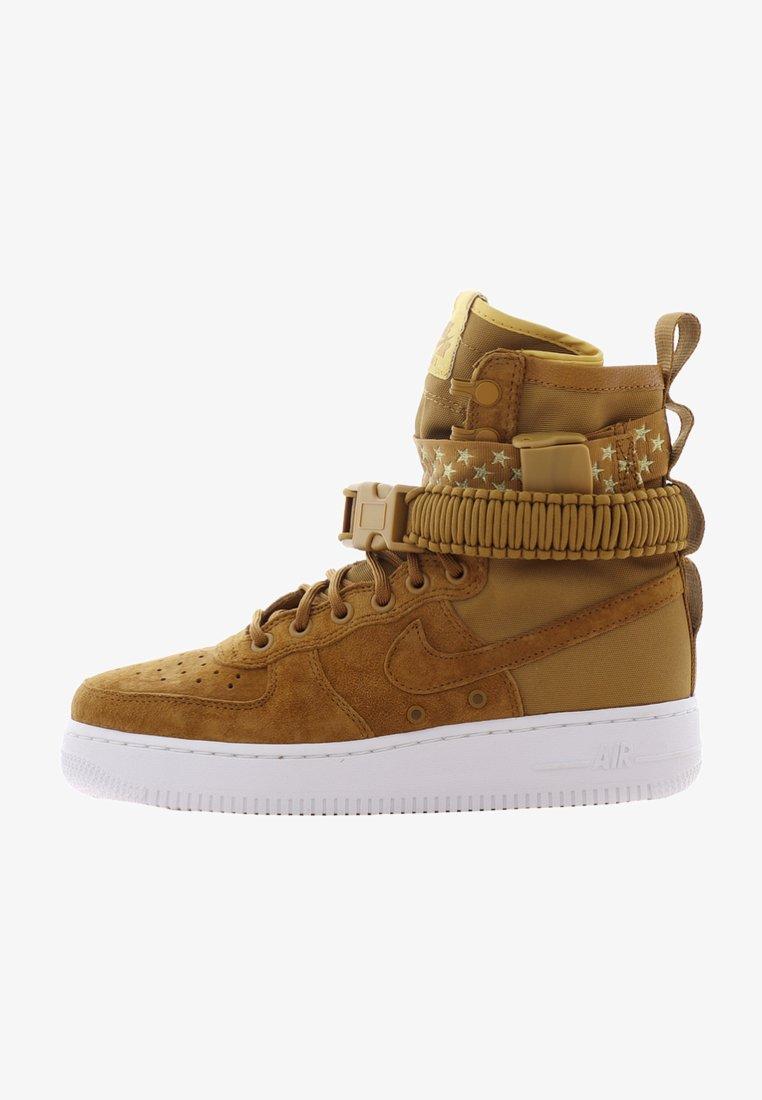 Nike Sportswear - W SF AF1 - Sneaker high - muted bronze/muted bronze-white
