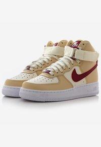 Nike Sportswear - AIR FORCE 1 - Sneakers hoog - noble red/pale ivory/white - 2
