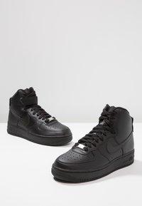Nike Sportswear - AIR FORCE 1 - Vysoké tenisky - black - 7