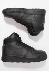 Nike Sportswear - AIR FORCE 1 - Vysoké tenisky - black - 3