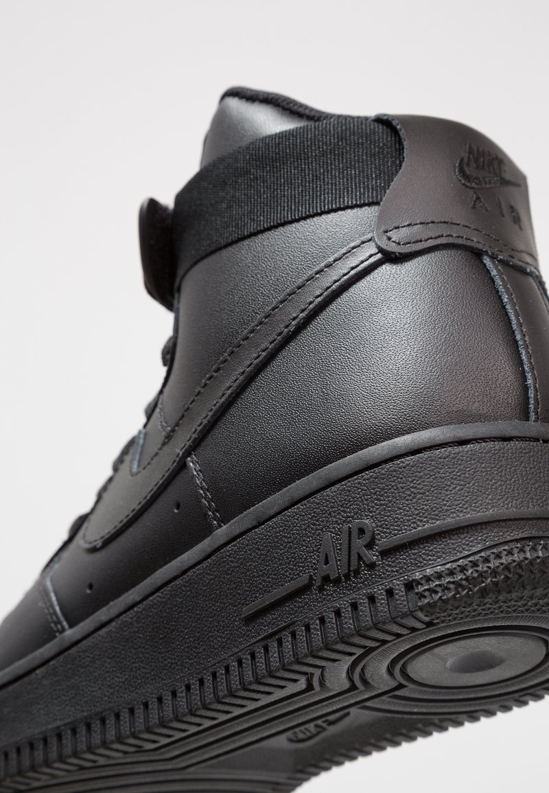 1Baskets Black Sportswear Air Nike Force Montantes MVqUSzp