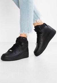 Nike Sportswear - AIR FORCE 1 - Vysoké tenisky - black - 0