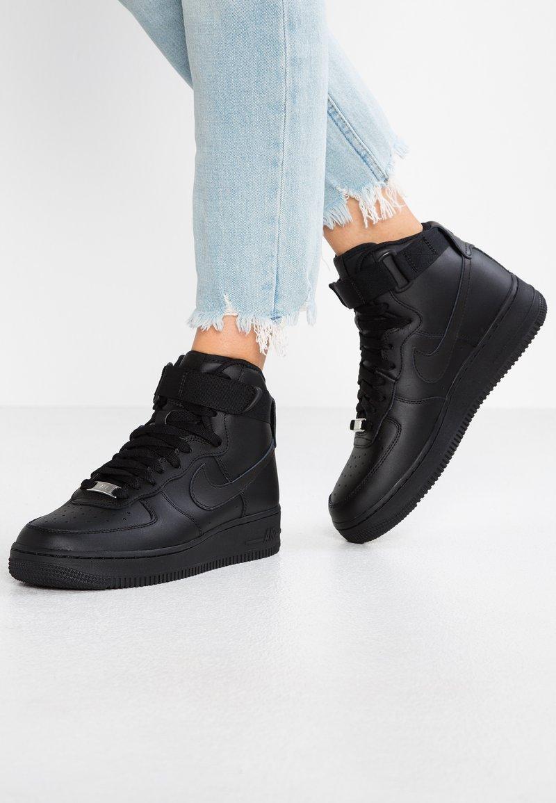 Nike Sportswear - AIR FORCE 1 - Vysoké tenisky - black