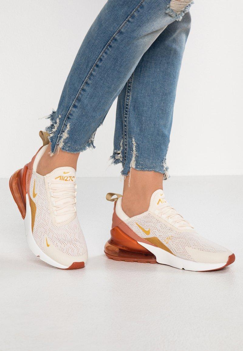 Nike Sportswear - AIR MAX 270 - Baskets basses - light cream/metallic gold/terra blush/dusty peach/platinum tint