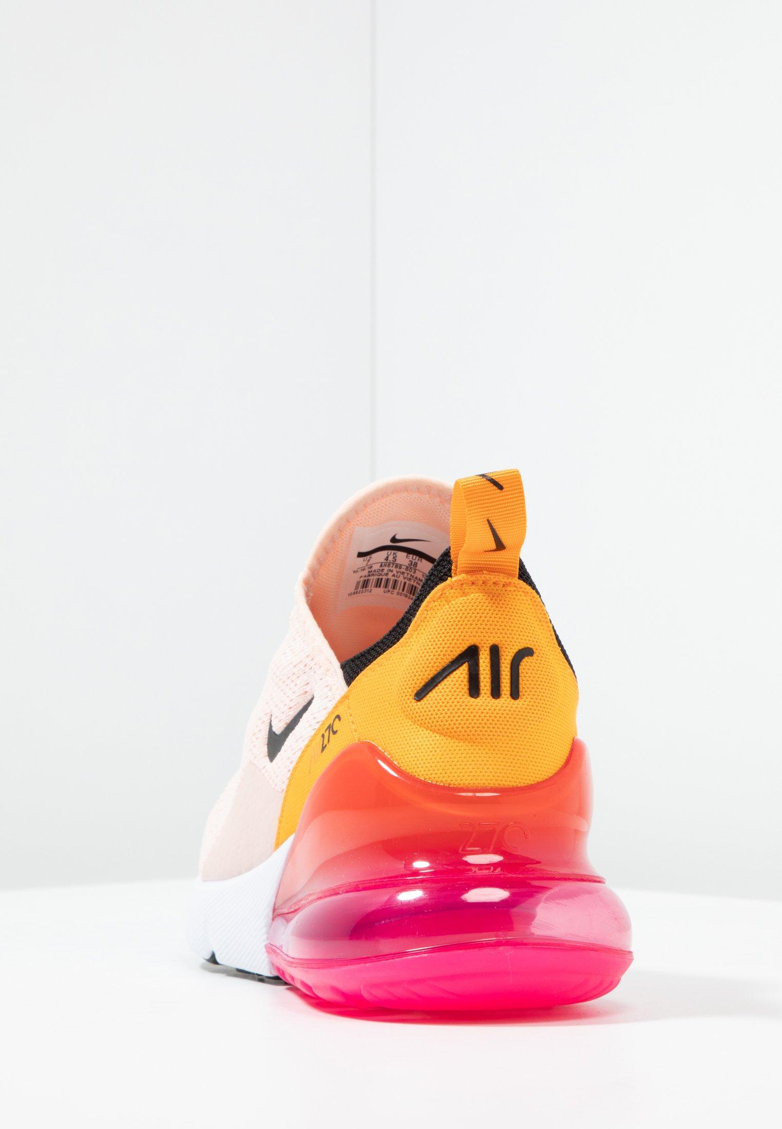 AIR MAX 270 Sneaker low washed coralblacklaser fuchsiaorange peel