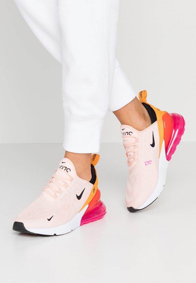 Nike Sportswear - AIR MAX 270 - Sneakers laag - washed coral/black/laser fuchsia/orange peel
